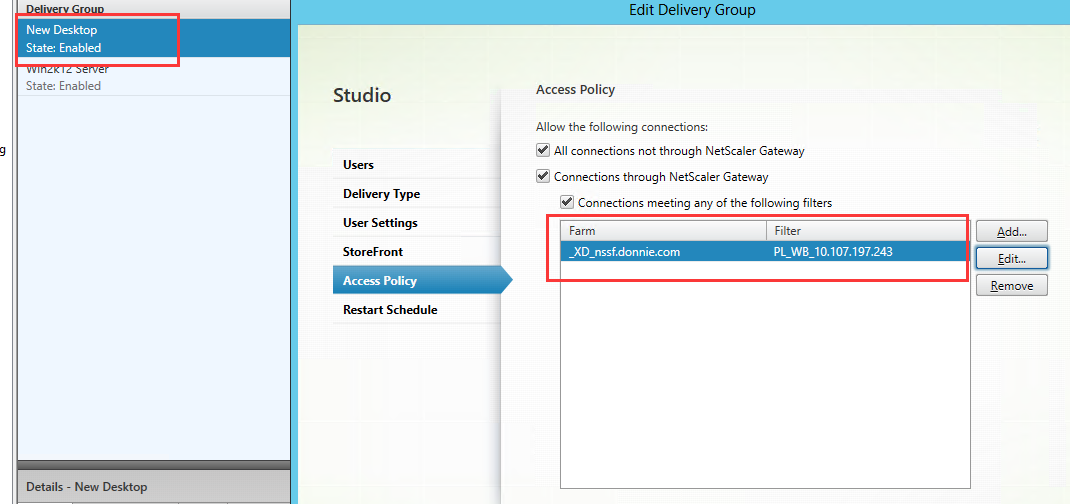 Smart Access Guide for NetScaler Gateway, StoreFront and