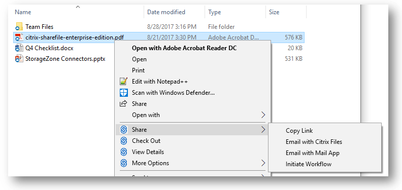 Install and Use Citrix Files for Windows