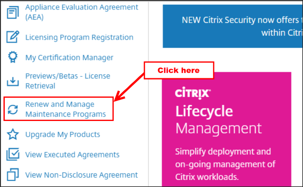 Changing Partner Visibility Settings in MyAccount on citrix com