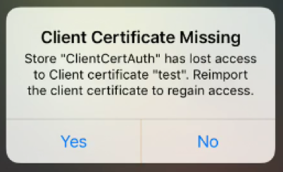 Signing Certificate Change for Citrix Receiver for iOS 7 5