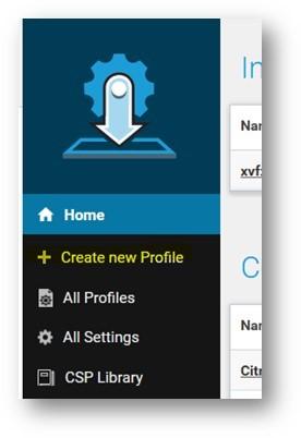 Guide to create XML profiles to Zebra devices