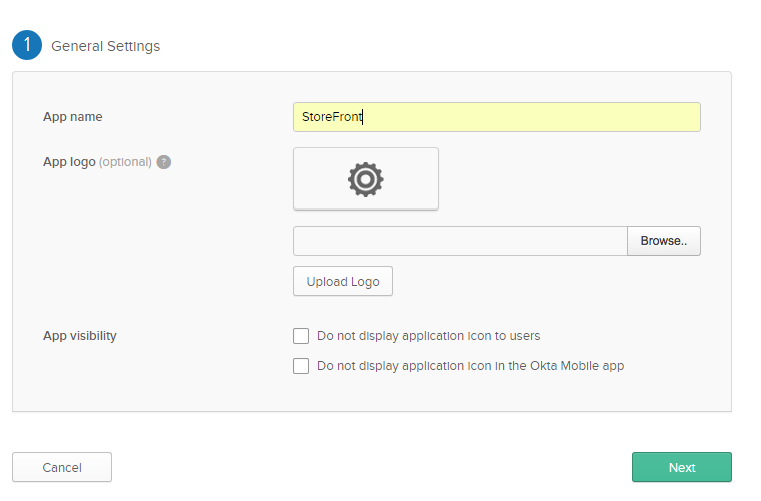 Configure StoreFront with OKTA