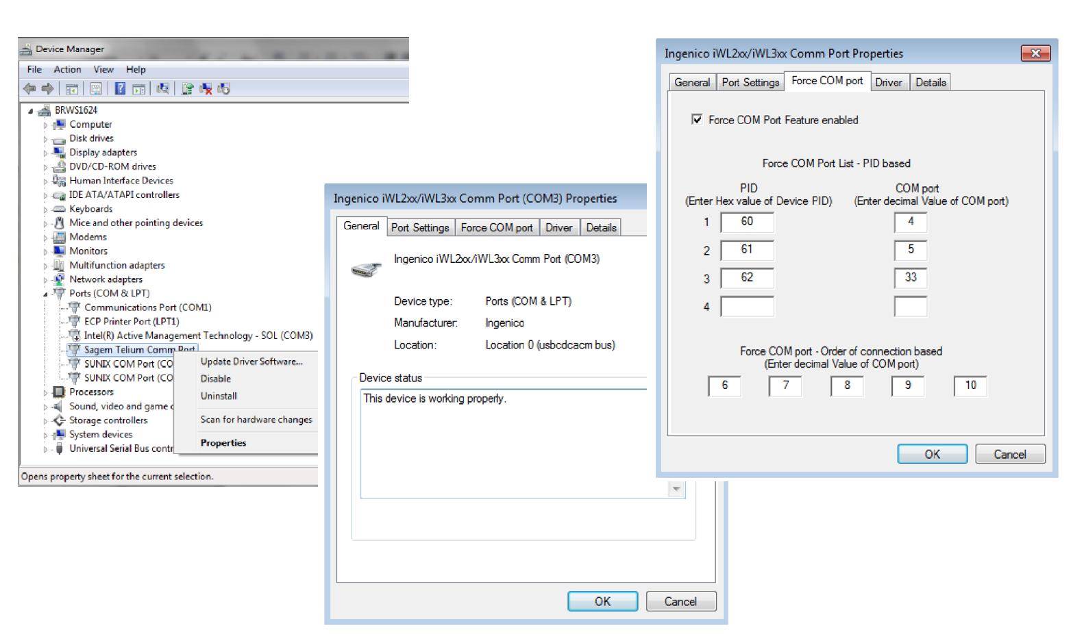 COM Port Redirection: How to map a client COM port to a