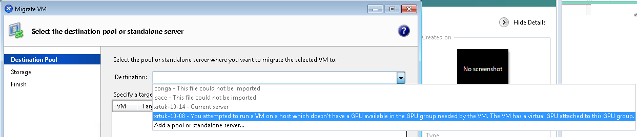 How to use and troubleshoot NVIDIA vGPU XenMotion with XenServer
