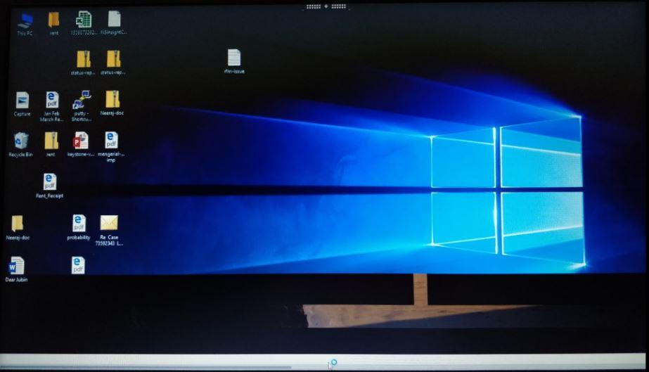 Receiver for Linux: Windows 10 VDA Taskbar shows white line