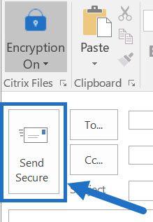 How To Encrypt Email In Outlook >> How To Encrypt An Email With Citrix Files For Outlook