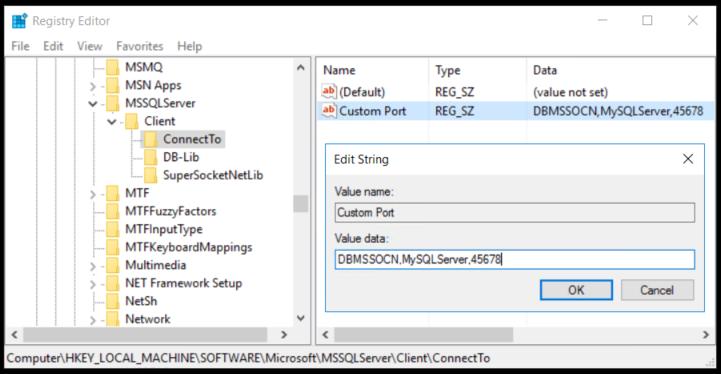 SQL Database Mirror Failover fails when using custom ports